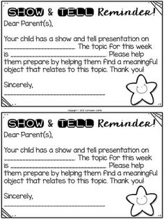 letter n show and tell show and tell ideas for the entire year editable 22913 | bed2783e92655f3f1c7964083ca9bd20