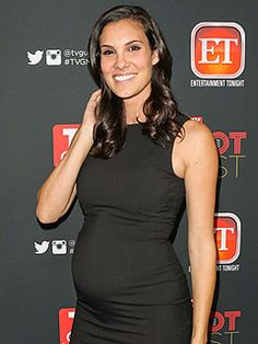 Daniela Ruah and fiancé David Olsen welcomed their first child, son River Isaac Ruah Olsen, on Monday, Dec. 30.