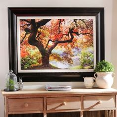 Enchanting Forest Framed Art Print | Kirklands $56