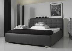 łóżko GRAND RAPID SZARE