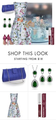"""""""Untitled #841"""" by grateful-angel ❤ liked on Polyvore featuring Debut, Oscar de la Renta and Gianvito Rossi"""
