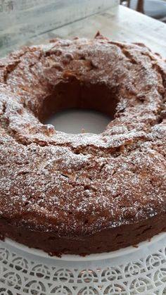 Rührkuchen mit Apfel und Walnuss - Rezept