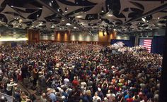Massive Crowd – Donald Trump Rally and Speech, Phoenix Arizona – 9:00pm Live Stream…Here we go….  The Phoenix Convention center is packed (8/31/16).
