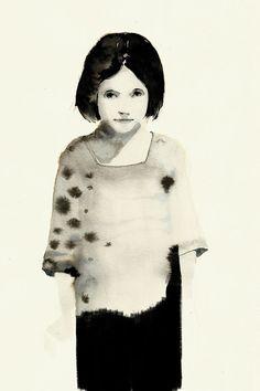 Oil, graphite, charcoal… the art of Julia Santa Olalla