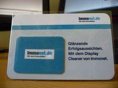 Mobil-Cleaner mit Corporate-Design. Siebdruck.