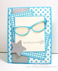 Out of Sight by ltecler - Cards and Paper Crafts at Splitcoaststampers Cute Cards, Diy Cards, Handmade Cards, Penny Black, Paper Gifts, Paper Paper, Pun Card, Cricut Cards, Pocket Cards