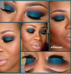 I doubt I'll ever wear blue eyeshadow, but this is convincing me otherwise...