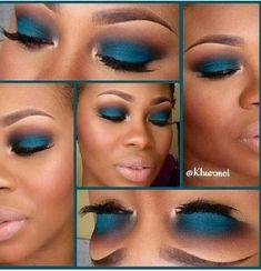 trendy makeup looks dark skin colour Pretty Makeup, Love Makeup, Makeup Looks, Dress Makeup, Edgy Makeup, Fancy Makeup, Purple Makeup, Makeup Set, Glitter Makeup