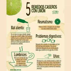 Remedios con limon