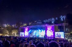 We are the party   Edinburgh Hogmanay Concert in the Gardens