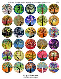 23 Clever DIY Christmas Decoration Ideas By Crafty Panda Dot Painting, Stone Painting, Bottle Cap Crafts, Bottle Caps, Resin Crafts, Paper Crafts, Ecole Art, Large Christmas Baubles, Rock Painting Designs