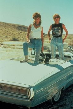 See five Thelma and Louise looks we'd still wear now, 25 years after the film was first released, on Glamour.com