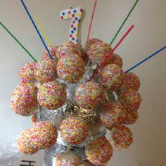 Cake pop disco ball..... Sort of!