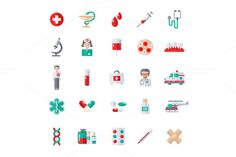 Medicine Icons by kotoffei on @creativework247
