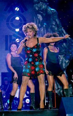 Tina Turner - MOBO - 1995