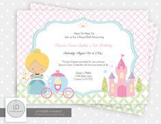 Cinderella Party Print Kit by LemonAvenueDesigns on Etsy