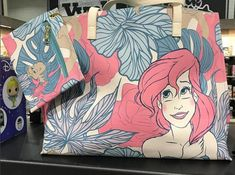 New Loungefly Ariel Tote Bag Revealed at New York Toy Fair
