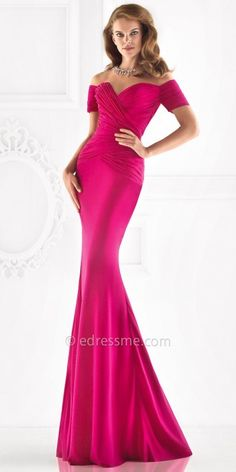 09f2e206d9f8 Tarik Ediz Jenny Evening Dress Off Shoulder Gown, Off The Shoulder,  Designer Bridesmaid Dresses