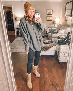 Fall Winter Outfits, Winter Fashion, Spanx, Everyday Fashion, Cool Outfits, That Look, Hipster, Beanie, Cozy