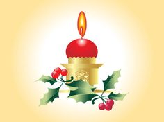 Christmas Candle with Festive Plants, Vector by Bazaar Designs License: Attribution Share Alike ID: Christmas Lamp, Christmas Candles, Xmas, Christmas Ornaments, Diwali Lamps, Fireplace Lighting, Holiday Party Invitations, Candle Lamp, Happy Diwali