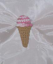 Crochet Pattern - Ice Cream Cone Cat Toy   Gather