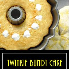 Twinkie Bundt Cake - Trending Recipes Mini Chocolate Chips, Chocolate Cake, Blueberry Upside Down Cake, French Buttercream, Poke Cakes, Graham Cracker Crumbs, Cake Batter, Savoury Cake, Mini Cakes