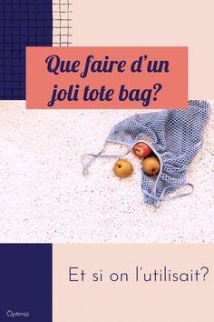 J'ai la solution pour utiliser vos totes bags. Vos dressings possèdent au moins un joli tote bag. Mais pourquoi ne les utilise-t-on pas plus? Ils sont si pratiques ces sacs en tissu. Optimizi  #totebag #totesbags #sactissu Le Tote, Tote Bag, Solution, Dressings, Totes, Crochet Hats, Business, Bags, Tote Purse