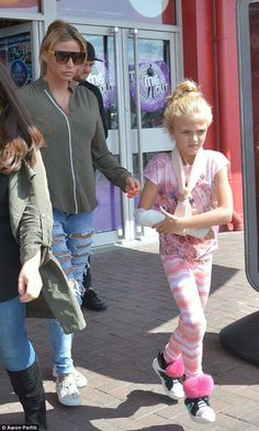 bad7196f1e Doting mum  Katie Price was joined by her daughter Princess while the  family continued filming