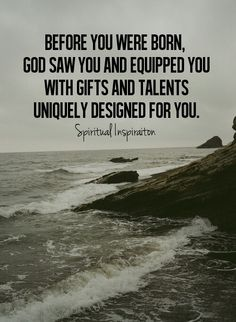 Isn't that amazing?:) He knew what would suit us best in bringing glory to His name before we were even born!