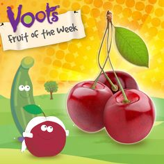 Our Fruit of the Week is a #cherry! Did you know the story of George Washington and the Cherry Tree is a myth?