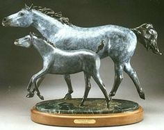 bronze equine sculpture by Dawn Weimer. Hope everyone supports Dawn by buying some of her work, it will help with medical expenses