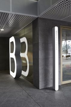 typography, environmental graphic design, dimensional, sculpture, illuminated, architecture (Qantas | Frost*collective)
