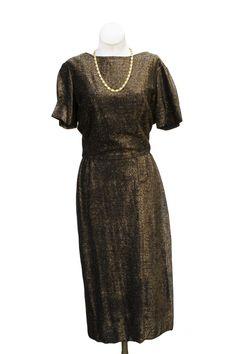 Cabaret Vintage - 1960s Lurex Dress, $165.00 (http://www.cabaretvintage.com/new-arrivals/1960s-lurex-dress/)