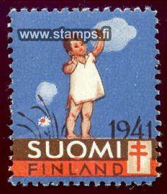 1941 Tyttö niityllä