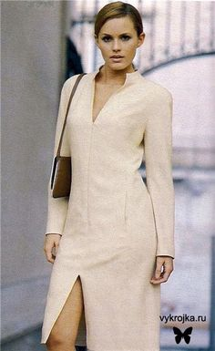 Pattern dress with raglan sleeves Scroll down for link in Czech.