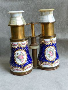 antique FRENCH ENAMEL OPERA GLASSES, BINOCULARS, decorated with pearls in Collectables, Theatre/ Opera/ Ballet, Opera | eBay
