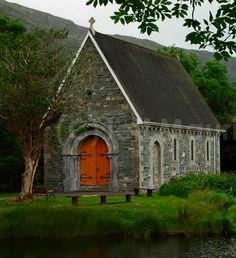 Gougnae Barra church - in County Cork, Ireland