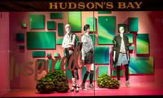 "HUDSON""S BAY COMPANY,Toronto, Canada, ""Inspired.....Club Culture"",  photo by James D., pinned by Ton van der Veer"