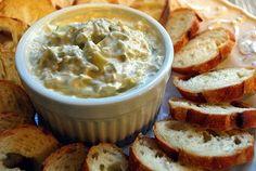 Lucy's Ladle: Crock Pot Parmesan Artichoke Dip