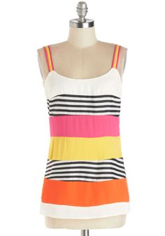 Sweet Someday Top. On days when youre craving a stylish dose of sweetness, slip into this striped top! #multi #modcloth