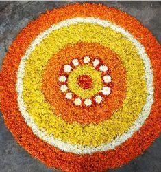 Rangoli Designs Latest, Rangoli Designs Flower, Rangoli Border Designs, Colorful Rangoli Designs, Rangoli Designs Diwali, Rangoli Designs Images, Flower Rangoli, Beautiful Rangoli Designs, Diwali Rangoli