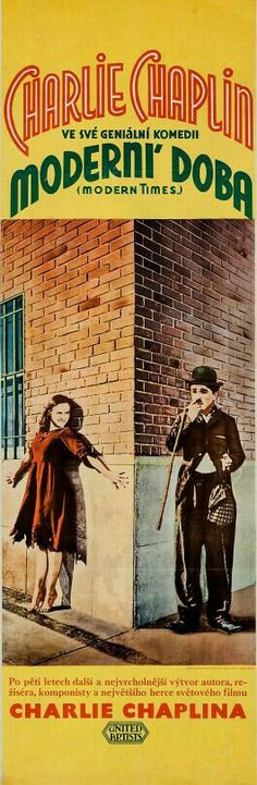 Charlie Chaplin in MODERN TIMES with Paulette Goddard
