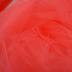Wedding Fabric Fine Tulle Full Bolt 40yd - Coral Pink by Beverlys.com