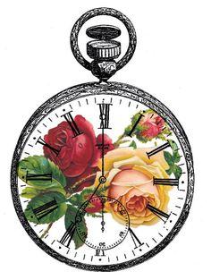 Free Vintage Clock.