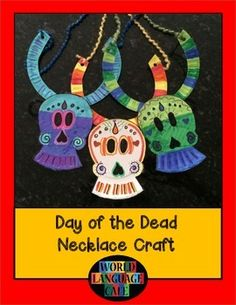Day of the dead children books and the dead on pinterest for Day of the dead crafts for preschoolers