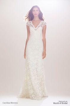 Carolina Herrera Bridal Fall 2016 Wedding Dress 5