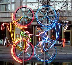 Robert Rauschenberg, Riding Bikes, 1998, Berlin
