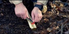 Start a Fire with a Guitar Pick | Camping Survival Skills, check it out at http://survivallife.com/start-a-fire-with-a-guitar-pick/