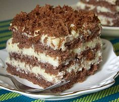 Polish Recipes, Polish Food, Food Cakes, Tiramisu, Cake Recipes, Cheesecake, Cooking Recipes, Baking, Ethnic Recipes