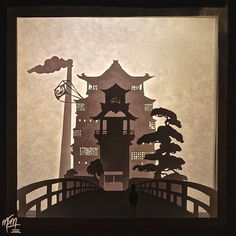 Spirited Away Bathhouse Paper Lightbox (Tutorial) by studioofmm on DeviantArt